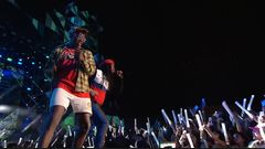 """D.R.A.M. """"Cash Machine  /  One Night / Broccoli"""" ft. Lil Yachty Live Performance"""