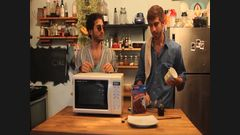 The Brothers Green Make MICROWAVE CAKE!