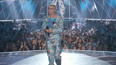 Katy Perry Touches Down To Host The 2017 MTV Video Music Awards