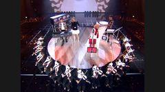 Clean Bandit feat Zara Larsson, Anne Marie, & Julia Michaels 'Symphony', 'I 'Miss You' & 'Rockabye'