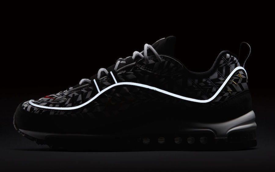 Nike Air Max 98 get wild fractal print refresh   MTV South