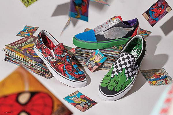 "Vans and Marvel are bringing together the best of both of their rich  heritages for a new ""Off The Wall"" Super Heroes of the Marvel Universe line. 9cc669fa1"