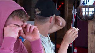 Geordie Shore | Depois de drama, Marty e Scotty conversam sério