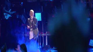 Rihanna e Eminem, a apresentação mais esperada da noite