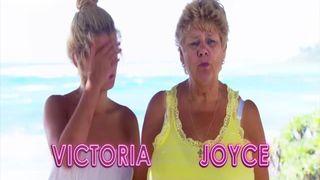 De Férias com os Avós | Victoria e Dustin no pole dance