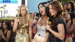 Os looks que a Taylor Swift já usou no VMA
