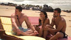 Guilherme continua a saga do triângulo amoroso no segudo episódio de #ExNaMTV