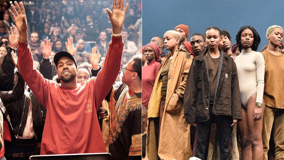 Kanye west zeigte neue 39 yeezy 39 kollektion im ausverkauften - Kanye west tickets madison square garden ...