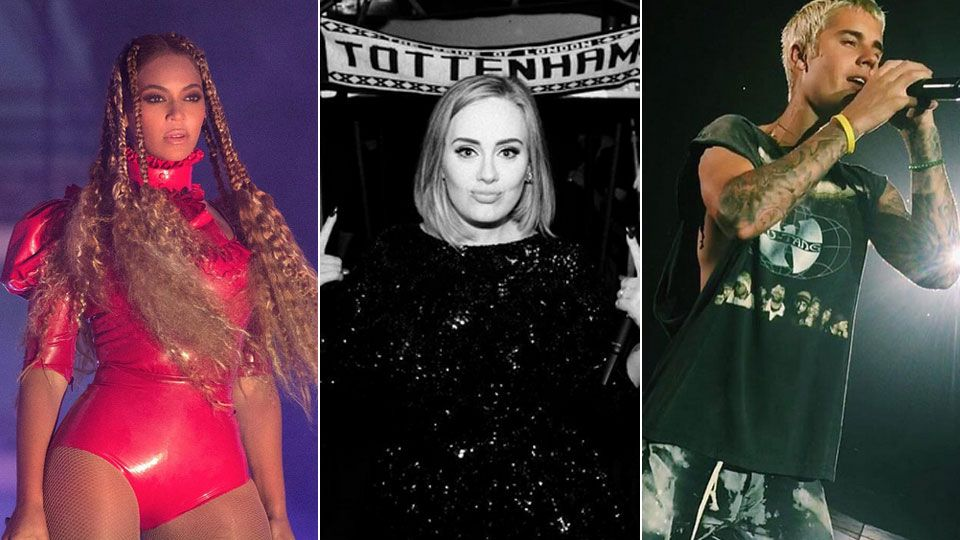 Beyoncé, Adele, Justin Bieber: Das sind die Nominierten für