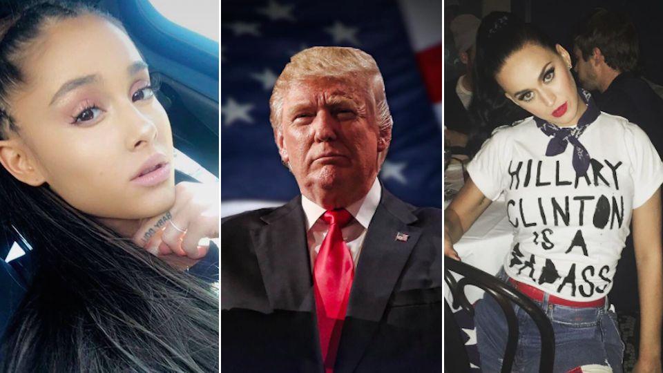 Donald Trump wird neuer US-Präsident: So reagieren die Stars auf die Wahlergebnisse