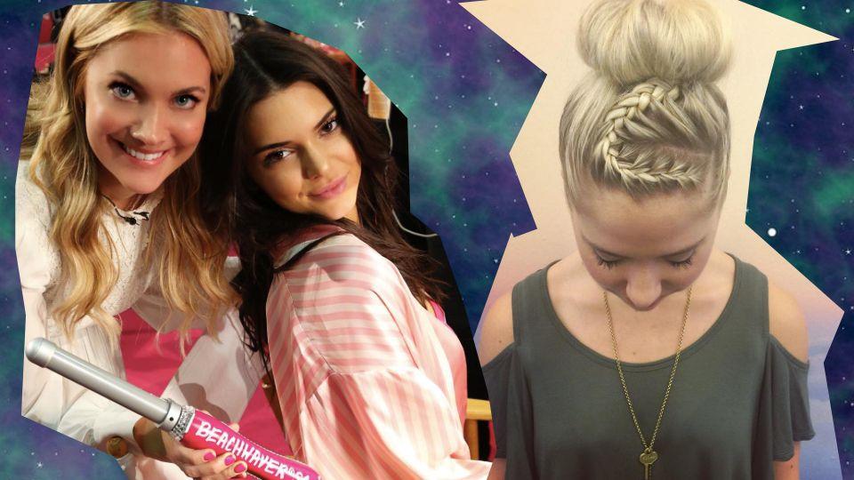 Kreative Zöpfe 2016 von der Victoria's Secret Fashion Show Haarstylistin Sarah Potempa