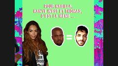 Nabilla, Kanye West et Thomas