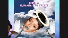 Rihanna humanitaire de l'année
