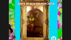 Sortie de bain hot pour Zahia