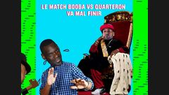 Le match Booba x Quarteron va mal finir !