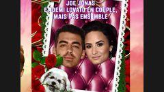 Joe Jonas et Demi Lovato en couple mais pas ensemble