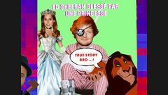 Ed Sheeran blessé par une princesse