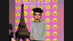 Kim K. est à Paris !