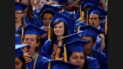 La remise des diplômes