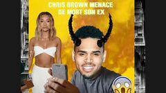 Chris Brown menace de mort son ex !