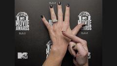 L'art sur ongles des MTV Movie Awards 2014