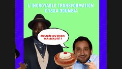 L'incroyable transformation d'Issa Doumbia
