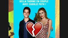 Bella Thorne en couple avec Charlie Puth !