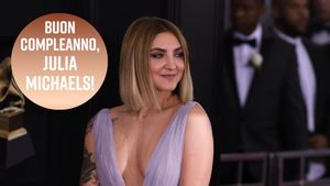 Tanti auguri a Julia Michaels