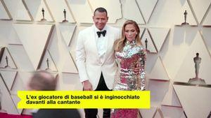 Jennifer Lopez: Alex Rodriguez ci ha messo sei mesi per progettare la proposta di matrimonio
