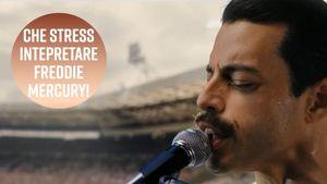 Rami Malek nei panni di Freddie Mercury: per l'attore il ruolo di una vita