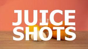 Centrifugati sani: shot di verdura e chaser di frutta