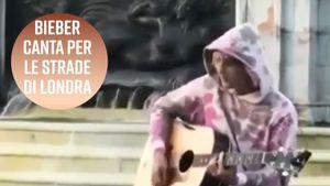 Justin Bieber ha fatto una serenata a Hailey Baldwin per le strade di Londra