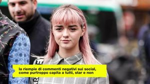 Maisie Williams ha parlato di come i social possano influenzare la salute mentale