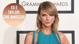Taylor Swift prende in giro Ed Sheeran mentre corrono insieme