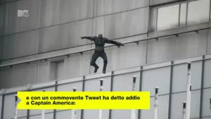 Chris Evans dice addio per sempre a Captain America
