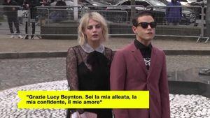 Rami Malek ha confermato: la fidanzata è la co-star Lucy Boynton