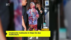 Justin Bieber e la tuta da ginnastica più incredibile che si sia mai vista