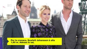Scarlett Johansson ha rivelato qual è la cosa più strana che le dicono sempre i fan