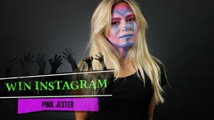 Look per Halloween: lo stile Pink Jester a tutta follia