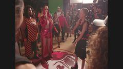 """Making Of """"Swish Swish"""" Music Video"""
