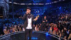 Justin Timberlake Accepts The Michael Jackson Video Vanguard Award