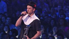Justin Timberlake Wins Video Of The Year