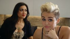 Miley Visits Twitter Headquarters To Spread 'We Can't Stop' Gospel