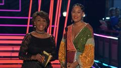 Congresswoman Maxine Waters and Tracee Ellis Ross present The Best Fight Against The System Award