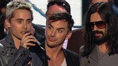 30 Seconds To Mars Win Best Rock Video