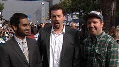 Aziz Ansari, Danny McBride and Nick Swarsdon