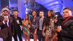 """Jersey Shore"" Cast Kicks Off The VMAs Black Carpet"