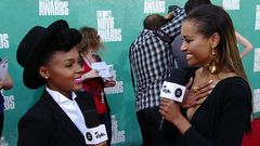 Red Carpet Report: Janelle Monae