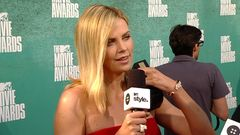 Red Carpet Report: Charlize Theron