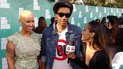 Red Carpet Report: Wiz Khalifa and Amber Rose